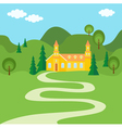 The way to home vector