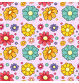 Flowers seamless vector