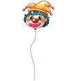 A clown balloon vector