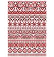 Geometric ornament ethnic embroidery vector