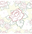 Seamless pattern consisting of flowers vector