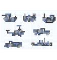 Transportation pixel vector