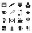 Utensils icons set 16 vector