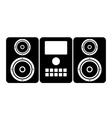 Music center icon vector