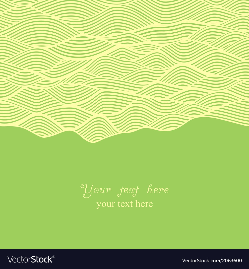 Abstract invitation card in chocolate theme vector | Price: 1 Credit (USD $1)