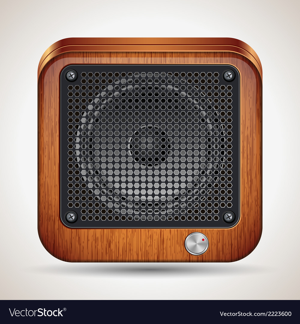 Loudspeaker icon vector | Price: 1 Credit (USD $1)