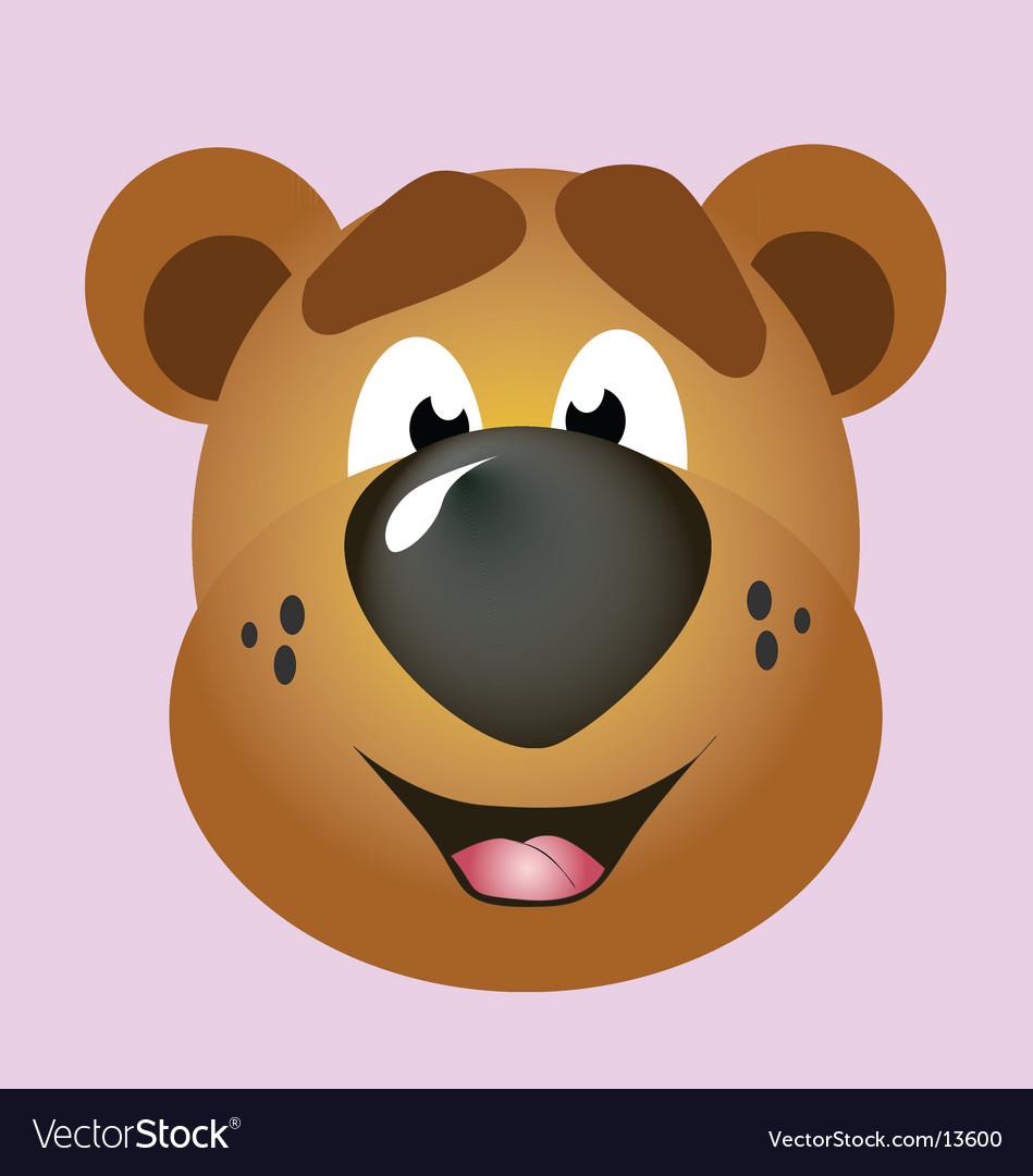 Mascot bear vector