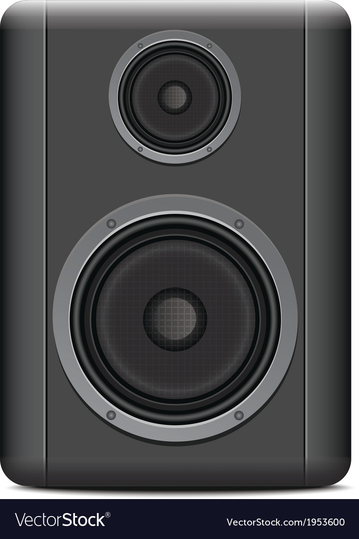 Music speakers vector | Price: 1 Credit (USD $1)