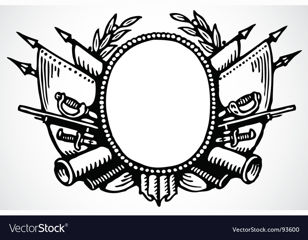 Oval ornament vector | Price: 1 Credit (USD $1)