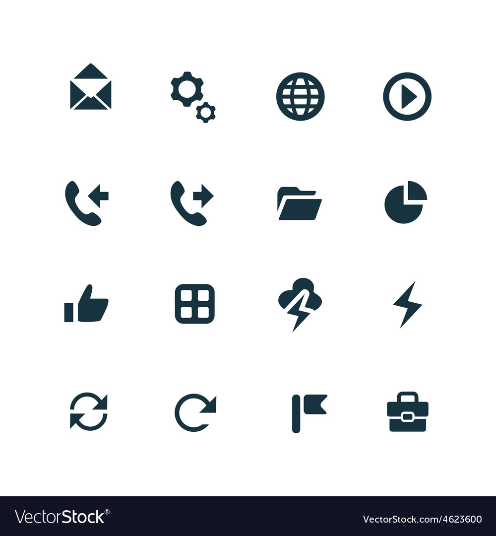 Ui outline for web and mobile icons set vector   Price: 1 Credit (USD $1)