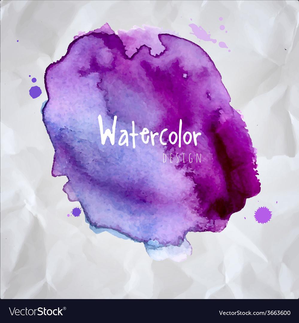 Watercolor design element vector   Price: 1 Credit (USD $1)