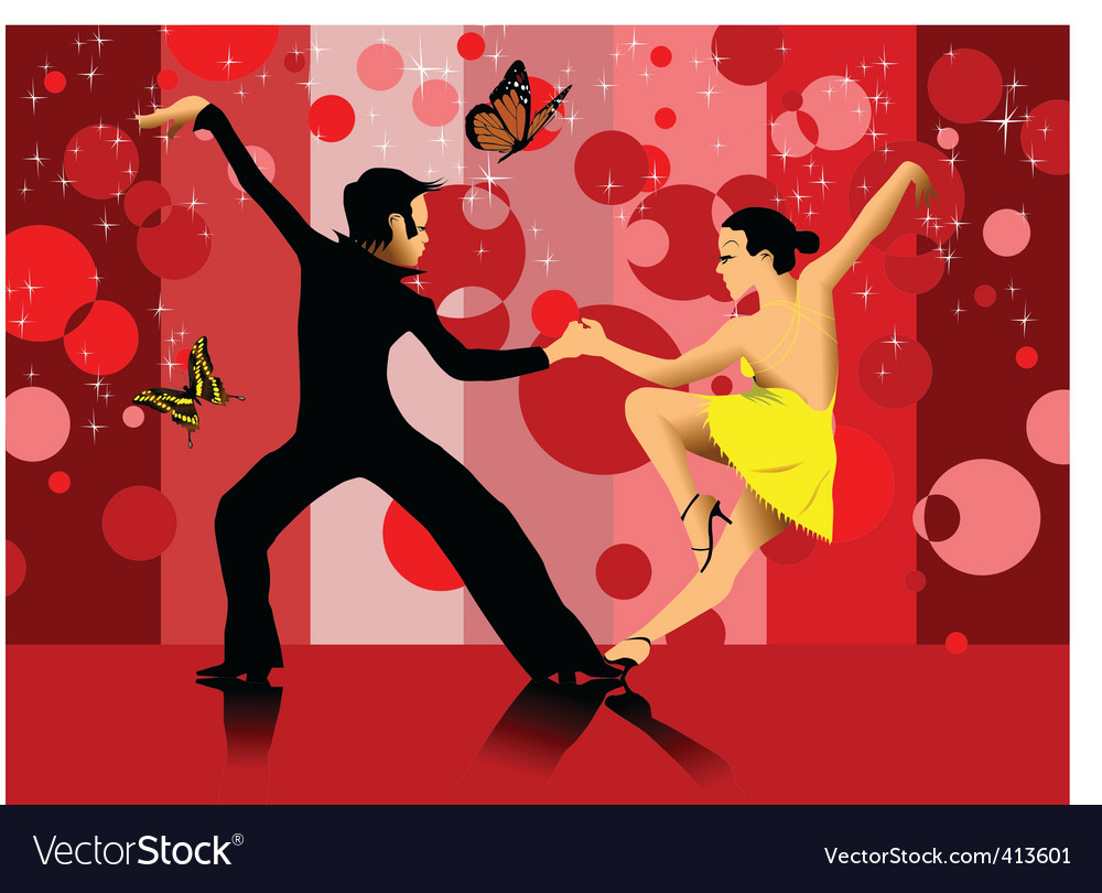 Dance cartoon vector | Price: 1 Credit (USD $1)