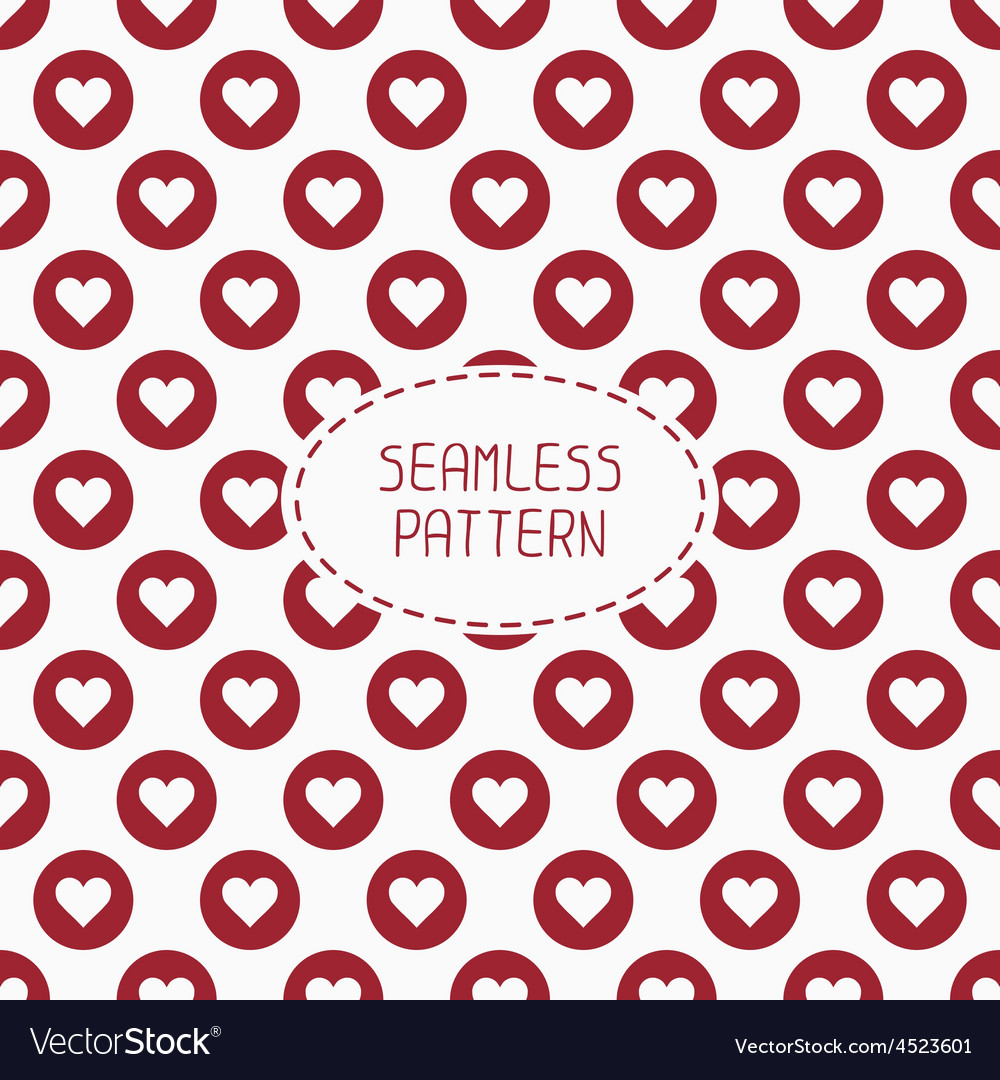Red romantic wedding geometric seamless pattern vector   Price: 1 Credit (USD $1)