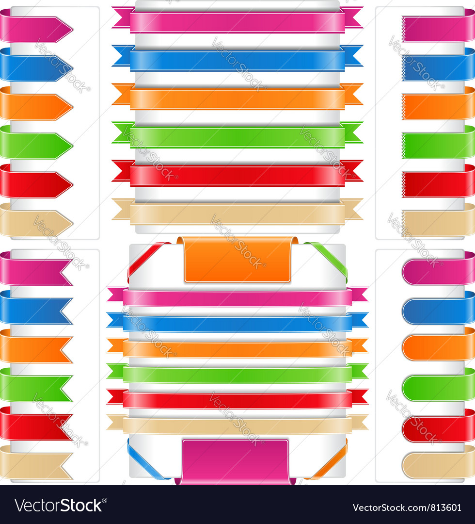 Ribbons vector | Price: 1 Credit (USD $1)