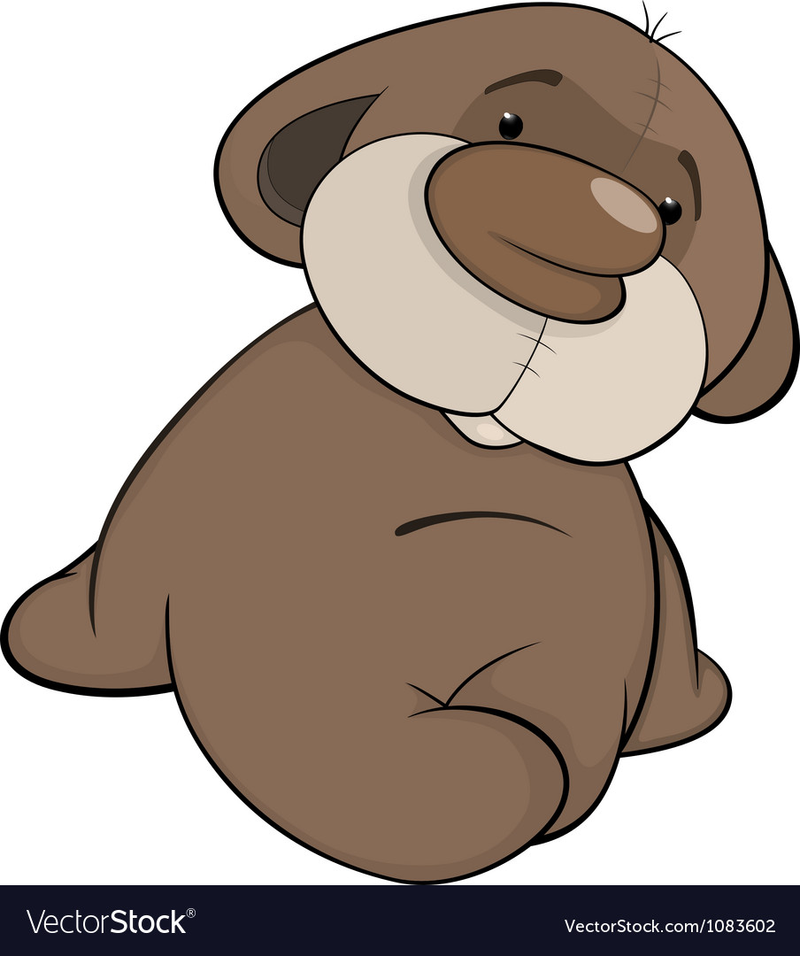 Bear cub vector | Price: 1 Credit (USD $1)