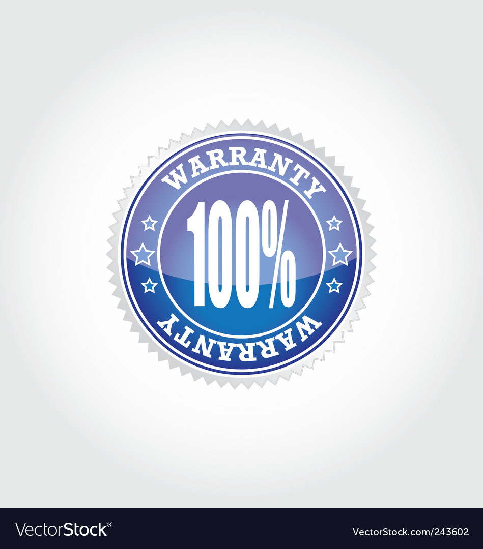 Warranty vector | Price: 1 Credit (USD $1)