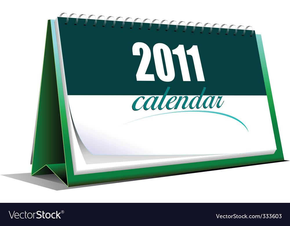 2011 calendar template vector | Price: 3 Credit (USD $3)