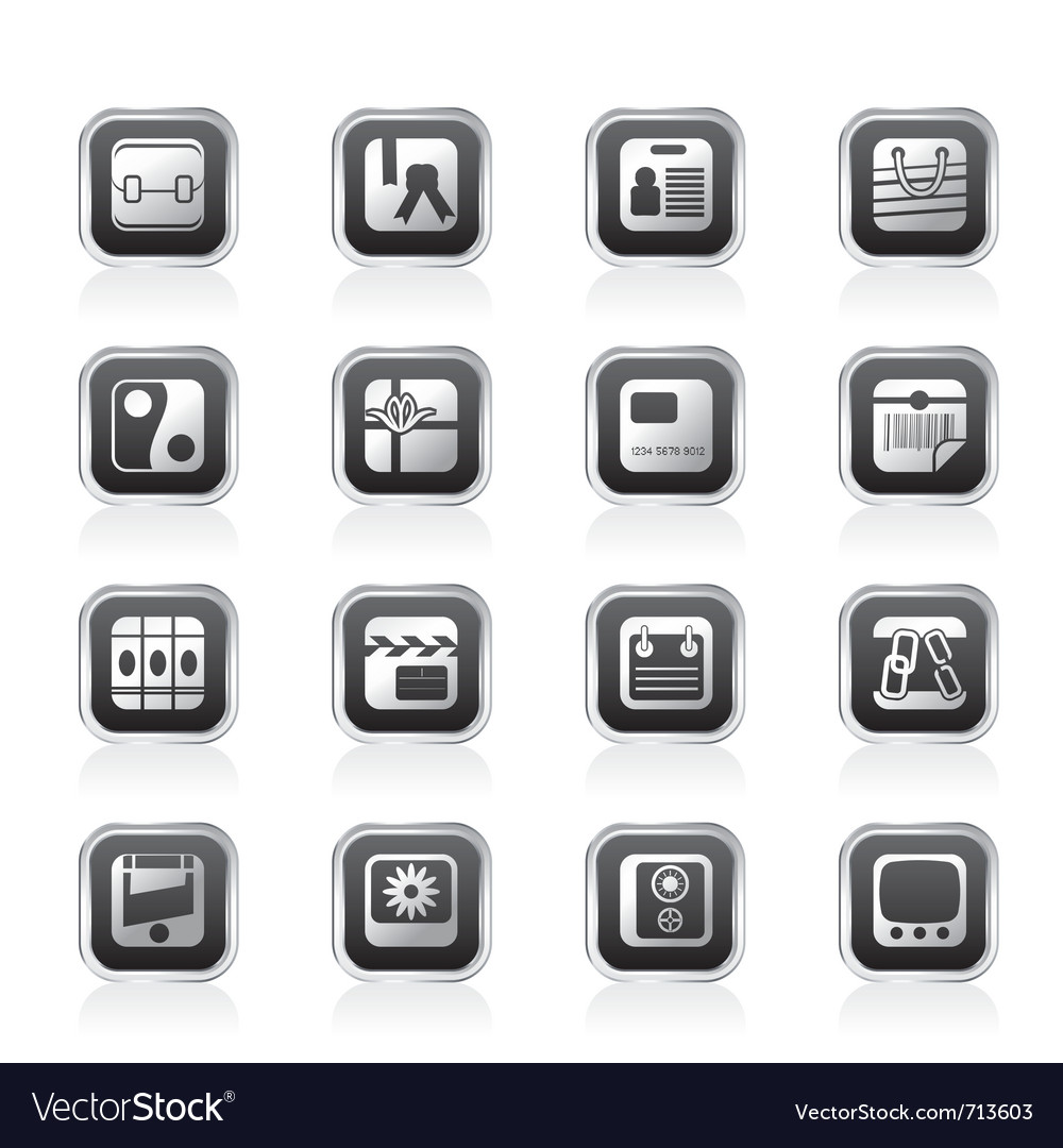 Business and internet icons vector | Price: 1 Credit (USD $1)