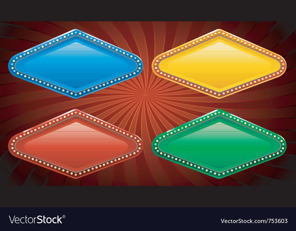 Casino sign vector   Price: 1 Credit (USD $1)