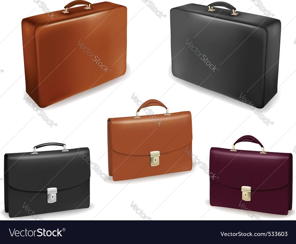 Th suitcasesvector illu vector | Price: 1 Credit (USD $1)