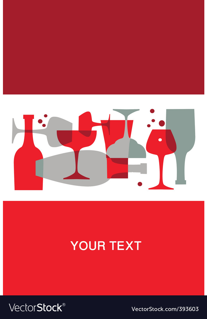 Wine background vector | Price: 1 Credit (USD $1)