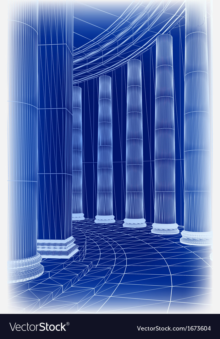 Column architecture vector | Price: 1 Credit (USD $1)