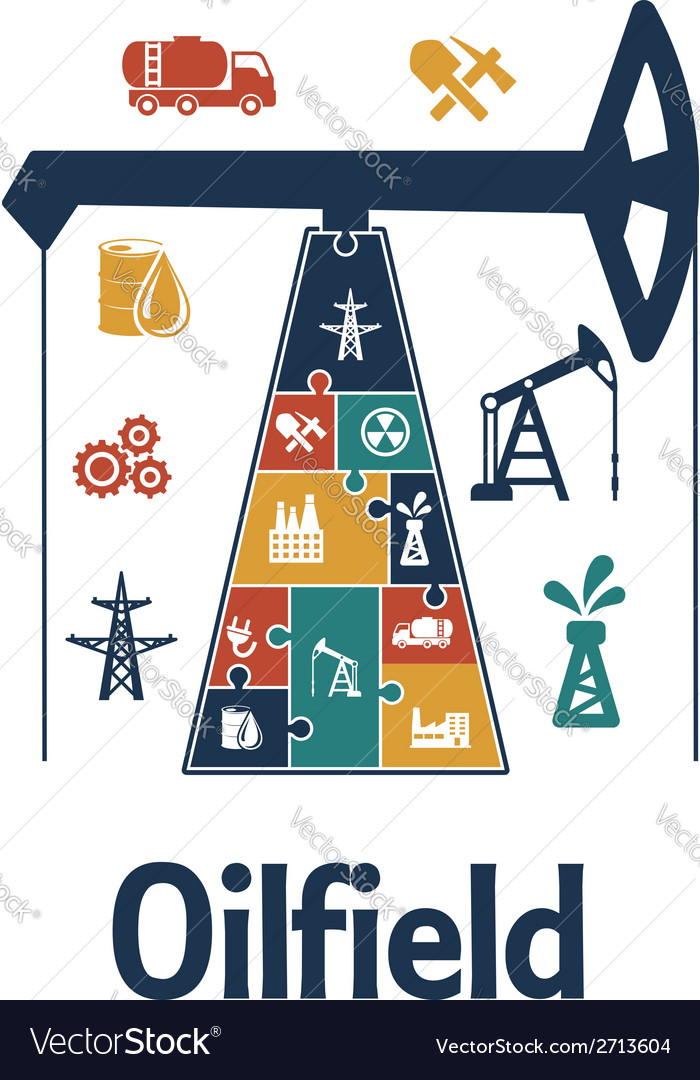 Energy and oil industry flat infographics design vector | Price: 1 Credit (USD $1)