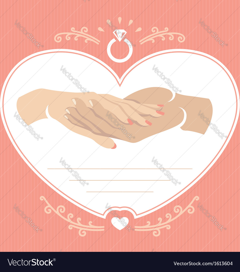 Proposal hand 2 vector | Price: 1 Credit (USD $1)