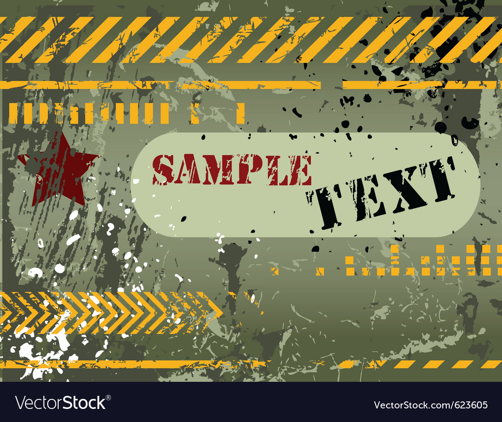 Army navy grunge background vector | Price: 1 Credit (USD $1)