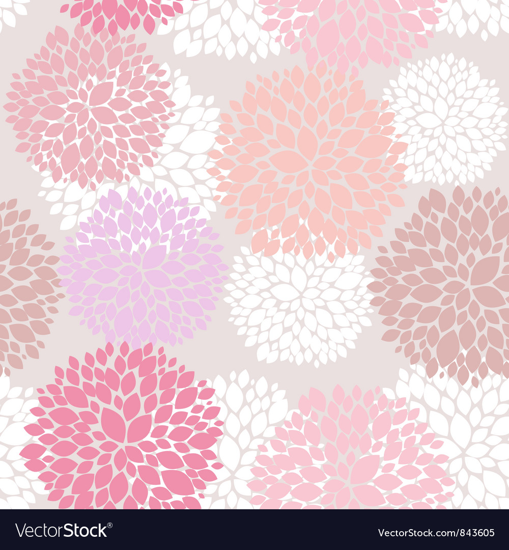 Cute unique floral pattern vector | Price: 1 Credit (USD $1)