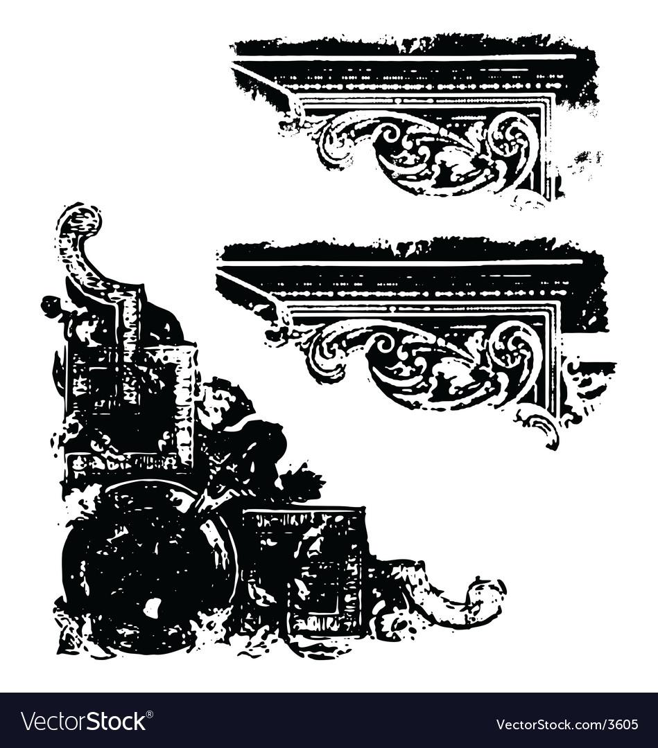 Grunge scrap vector | Price: 1 Credit (USD $1)