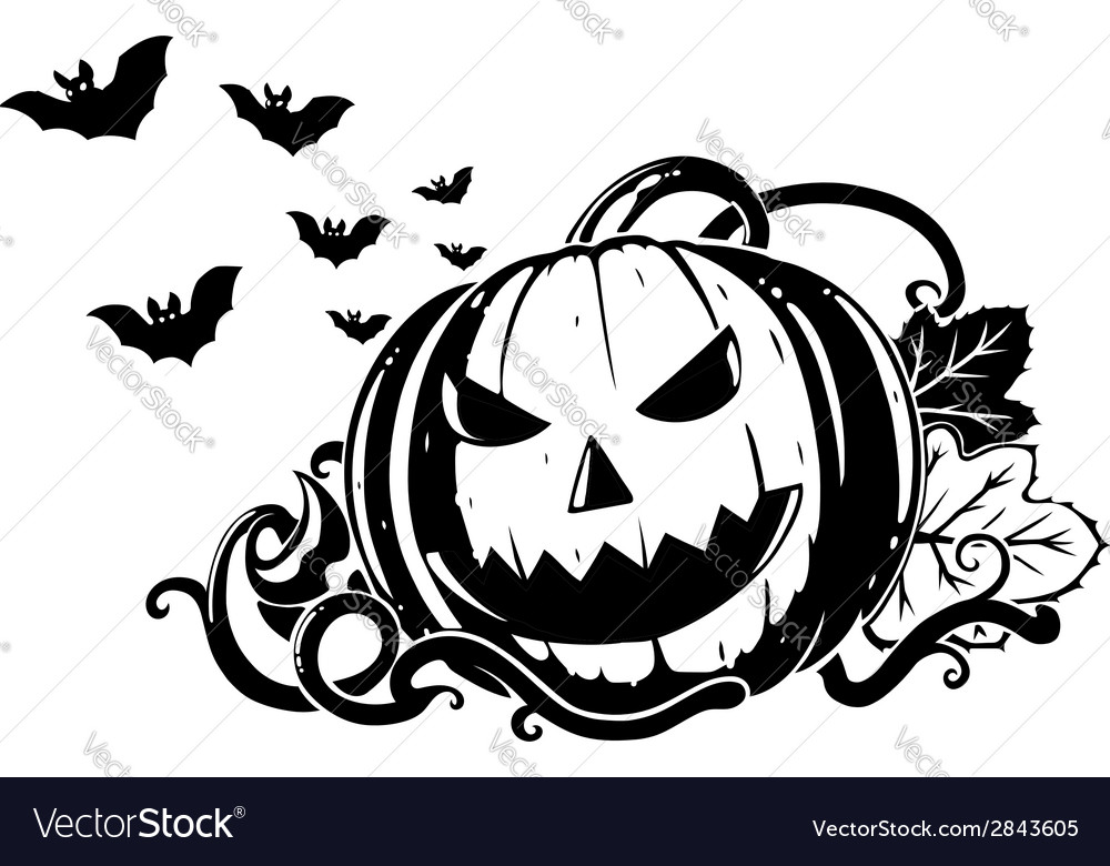 Pumpkin composition vector | Price: 1 Credit (USD $1)