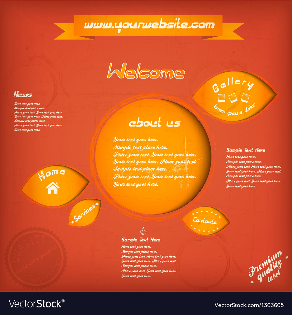 Web retro speech 2 vector | Price: 1 Credit (USD $1)