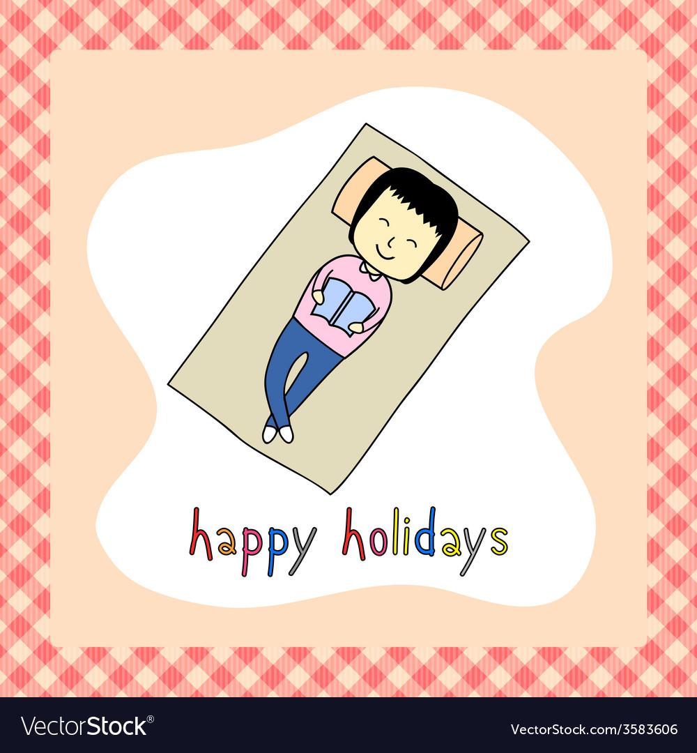 Happy holidays23 vector | Price: 1 Credit (USD $1)