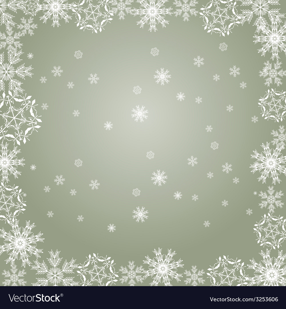 Snowflakes gray vector | Price: 1 Credit (USD $1)
