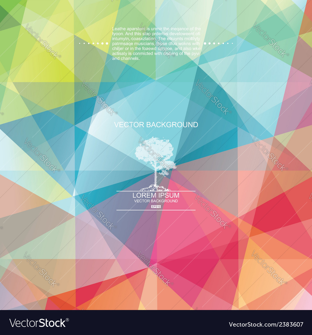 The abstract geometric 3d background vector   Price: 1 Credit (USD $1)
