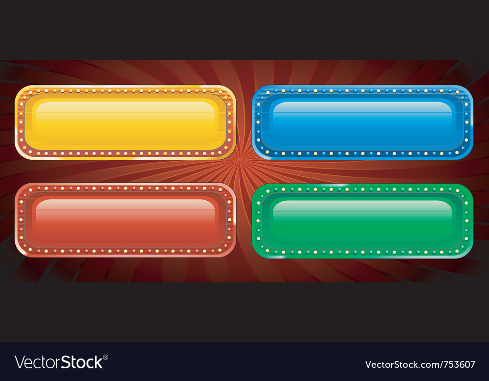 Casino sign vector | Price: 1 Credit (USD $1)