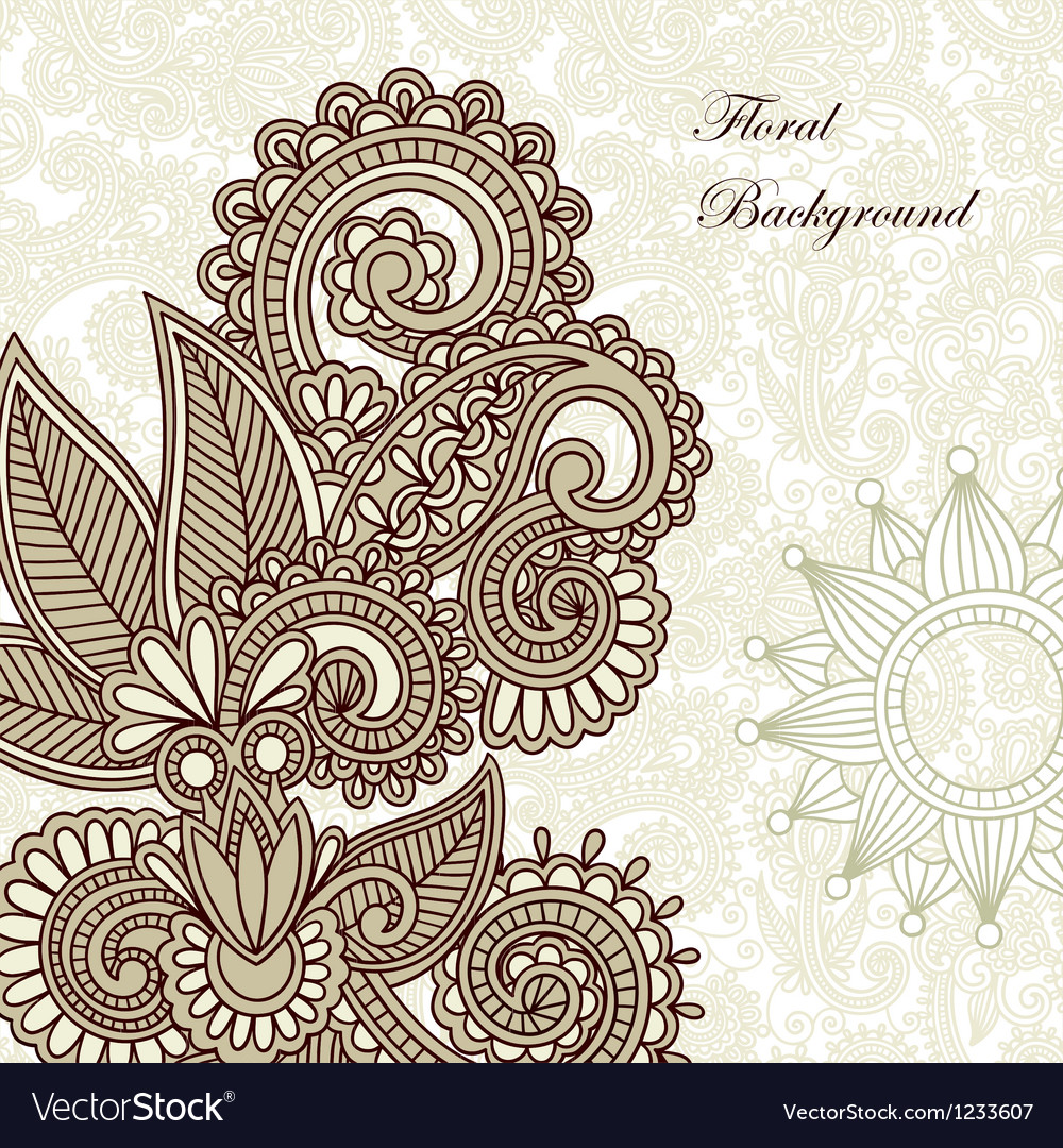 Frame ornate card announcement vector | Price: 1 Credit (USD $1)