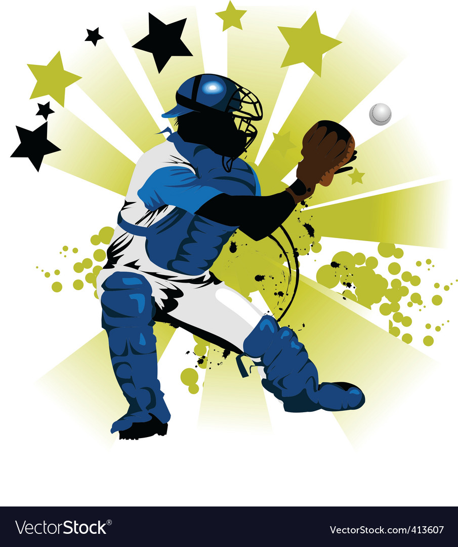 Trap the ball vector | Price: 1 Credit (USD $1)