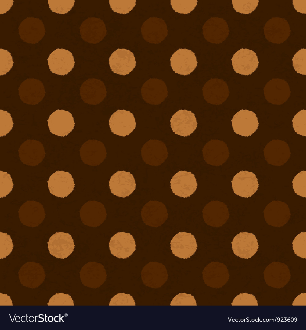 Coffee dot seamless background vector | Price: 1 Credit (USD $1)