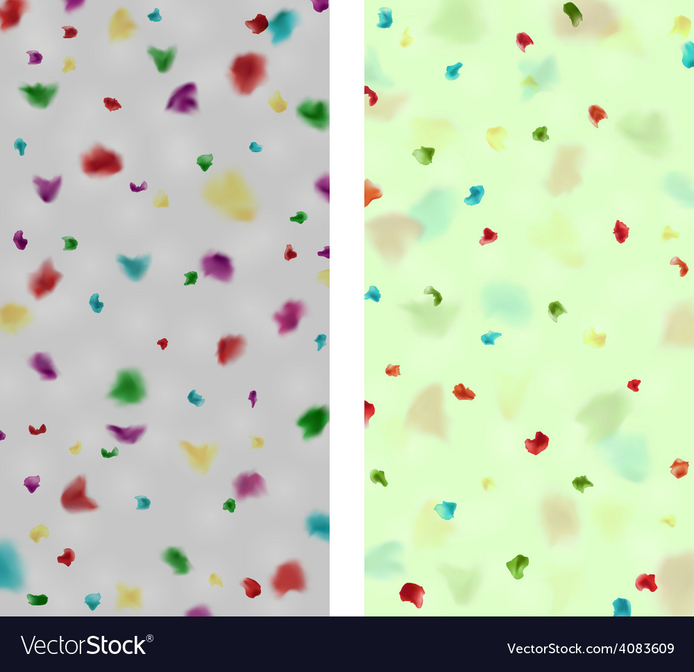 Colorful spotted backgrounds vector | Price: 1 Credit (USD $1)
