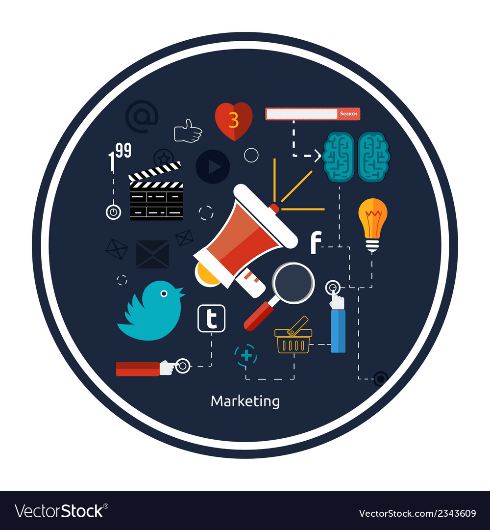 Icons for marketing vector | Price: 1 Credit (USD $1)