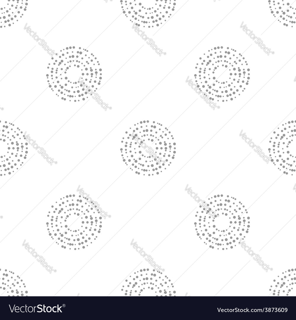 Interlocking circles repeat tile pattern vector | Price: 1 Credit (USD $1)