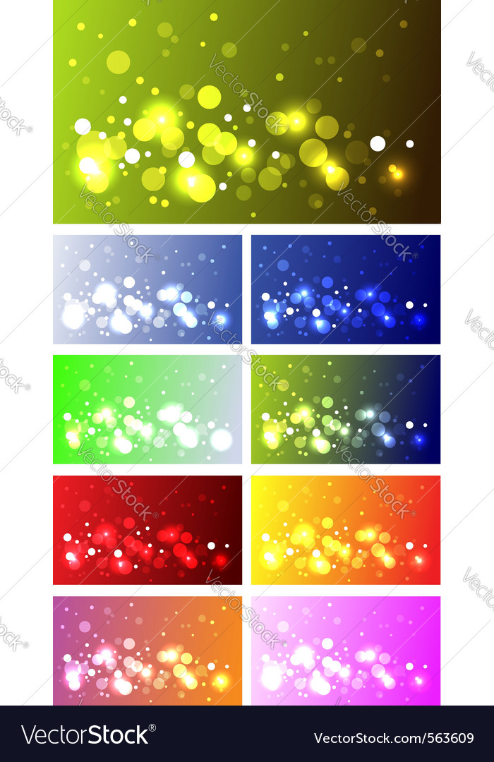 Sparkling backgrounds vector | Price: 1 Credit (USD $1)