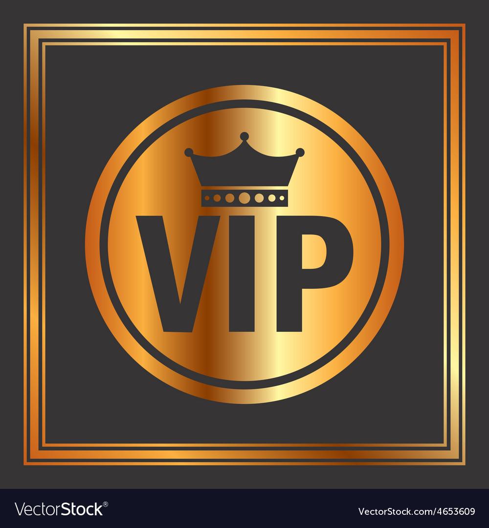 Vip membership vector | Price: 1 Credit (USD $1)