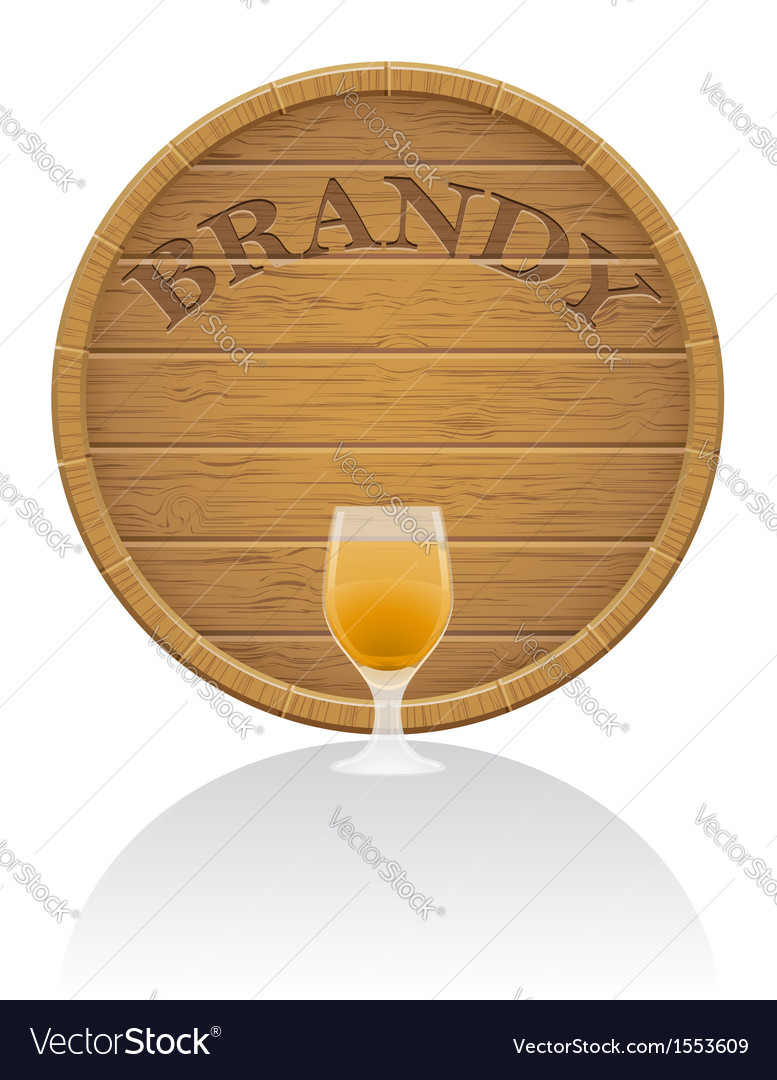 Wooden barrel 08 vector | Price: 1 Credit (USD $1)