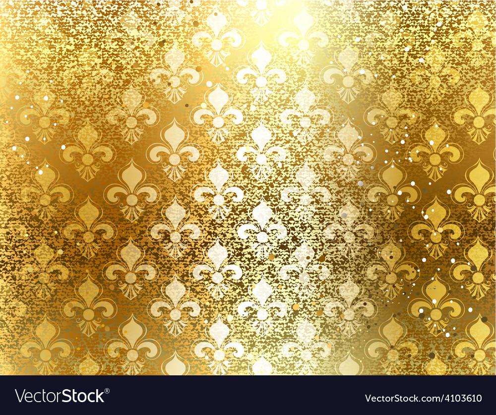 Brocade background vector | Price: 1 Credit (USD $1)