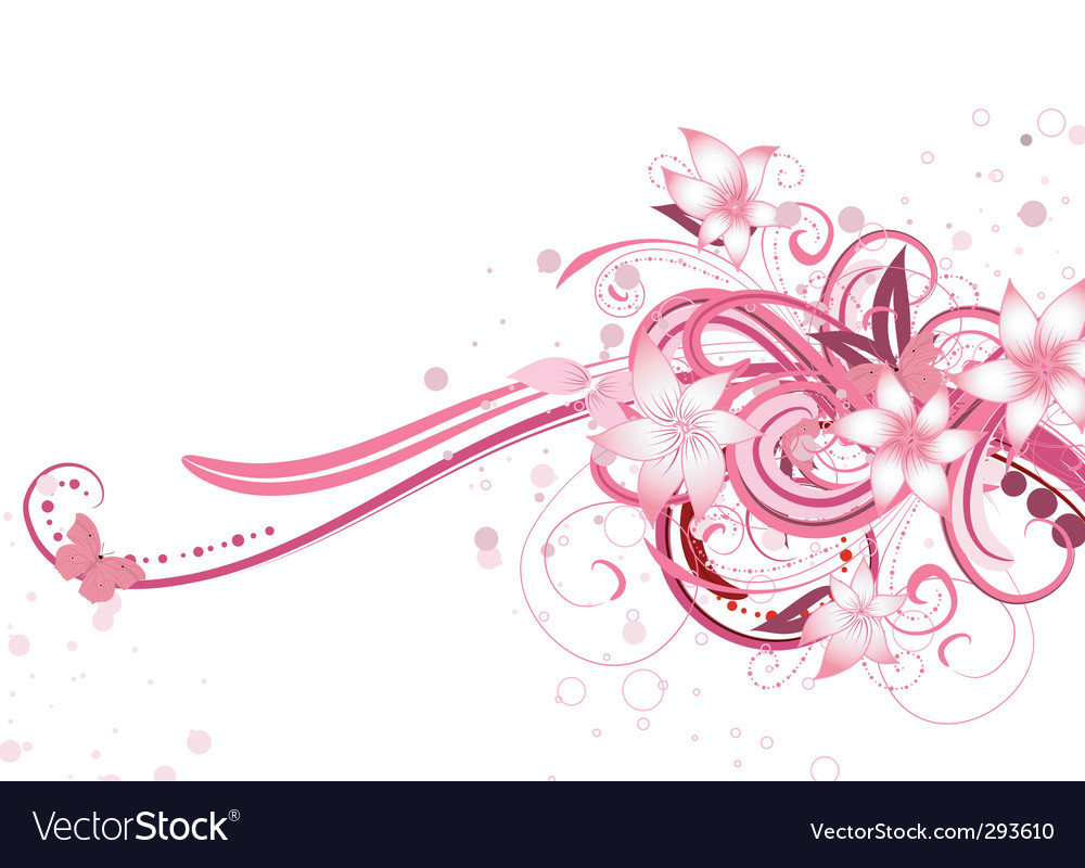 Floral fantasy vector | Price: 1 Credit (USD $1)