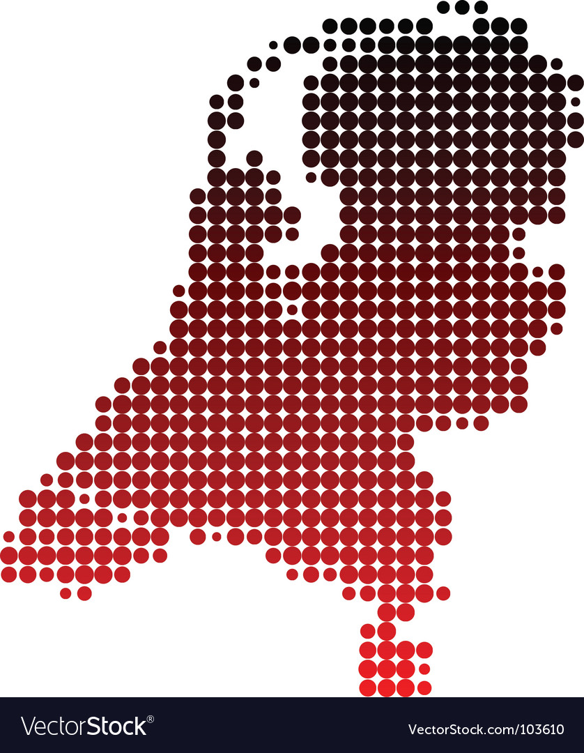 Map of the netherlands vector | Price: 1 Credit (USD $1)