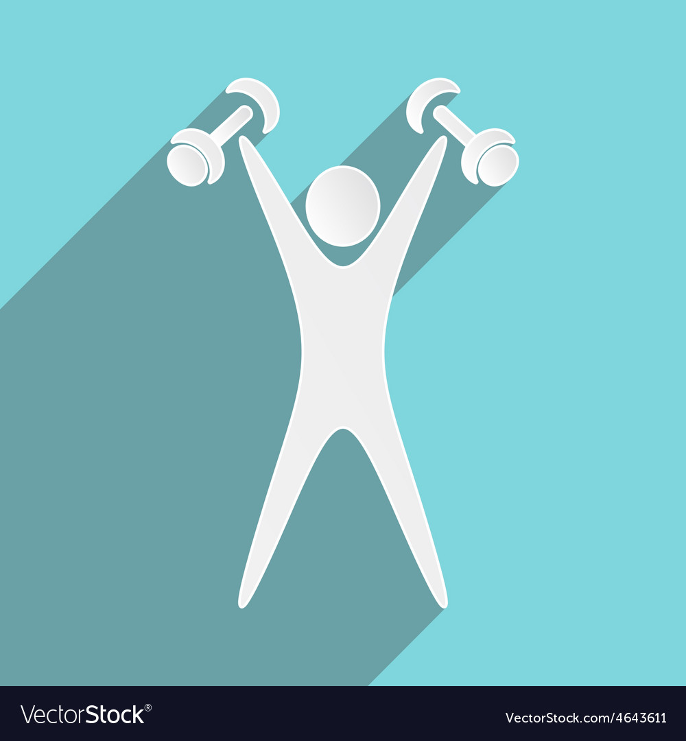 Exercising figure vector | Price: 1 Credit (USD $1)